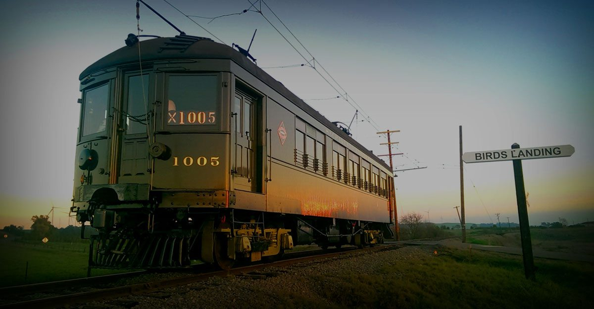 Electric Rail Car at the Western Railway Museum