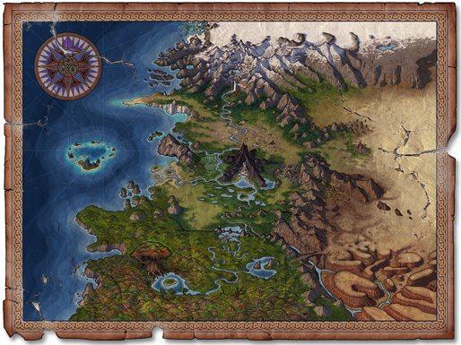 Wormworld Map by Daniel Lieske