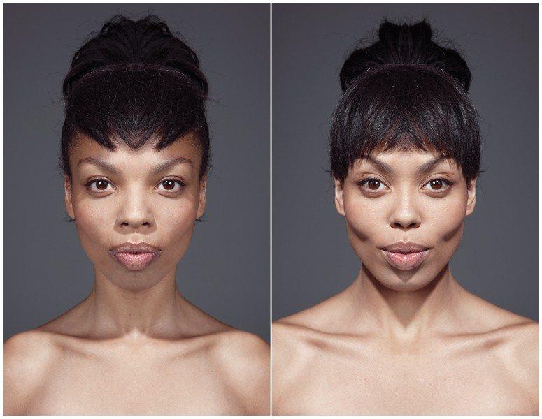 symmetrical faces, asymmetrical face, camera disorder,
