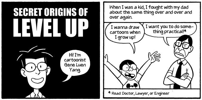 The Secret Origins of Level Up