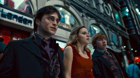 Harry, Hermione & Ron in London