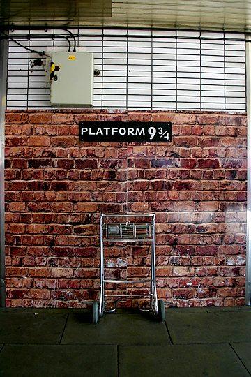 Platform Nine & Three Quarters