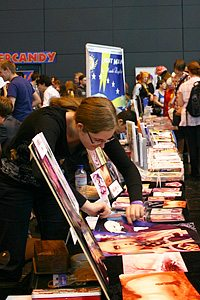 Some of the Stalls at MCM Expo