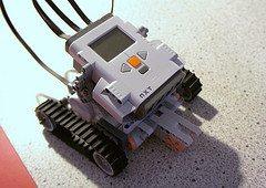 First Lego Minstorms robot