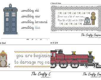 Cross Stitch Patterns © Crafty Companion