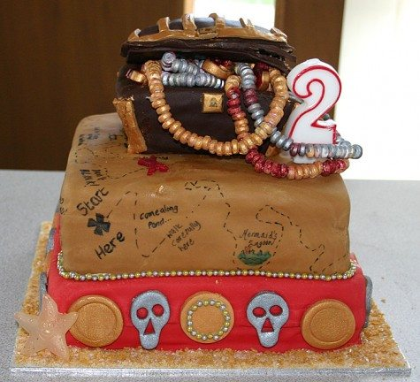 My Son's 2nd Birthday Cake © Sophie Brown
