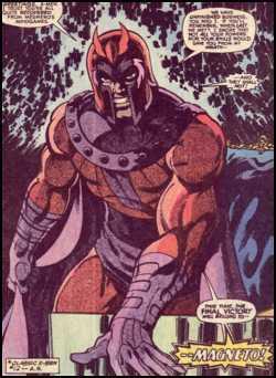 Magneto by John Byrne, image © Marvel Comics