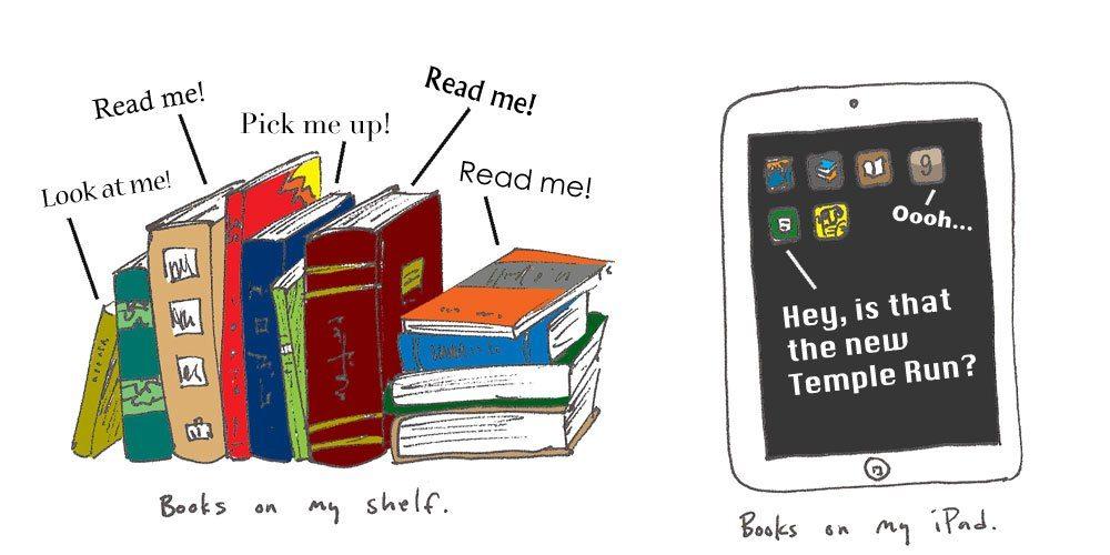 Books, iPad