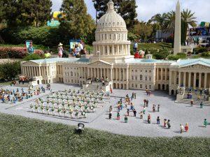 Miniland at the Legoland park. Photo: Jenny Williams