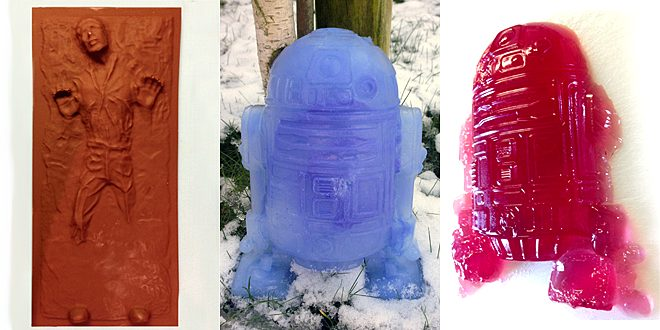 Star Wars Mould Results © Sophie Brown