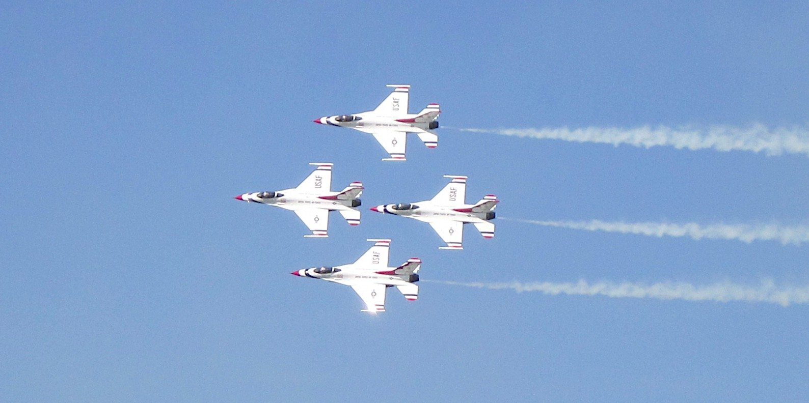 Thunderbirds, Blue Angels, airshow