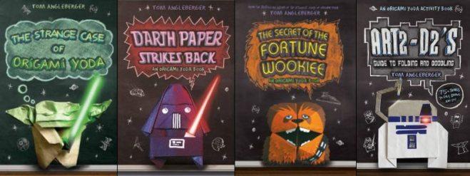Origami Yoda Series by Tom Angleberger