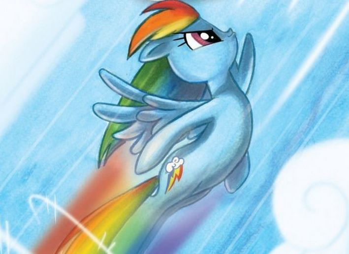 Rainbow Dash Micro Series  Image: IDW Publishing