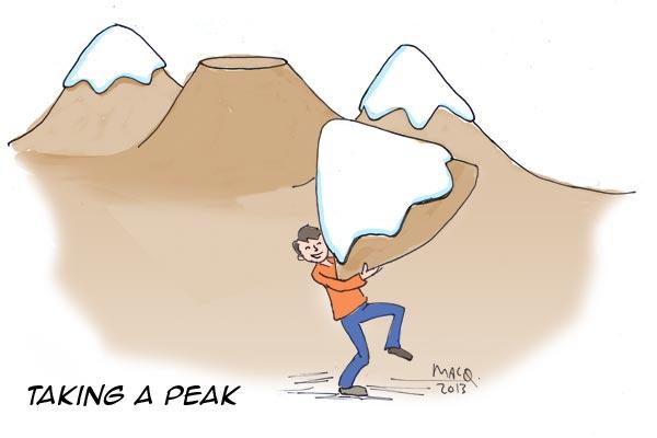 taking-a-peak