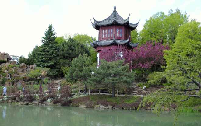 Chinese Garden in Montreal