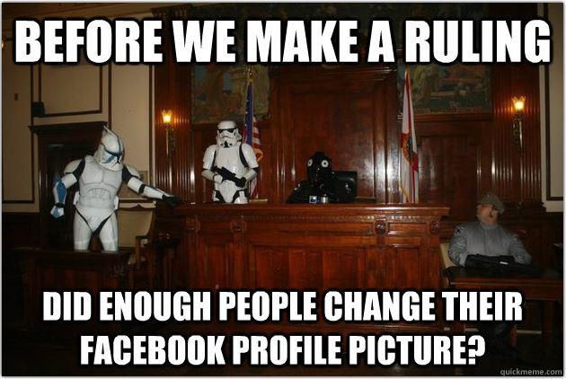 My variation of a popular Facebook meme  Image: Dakster Sullivan