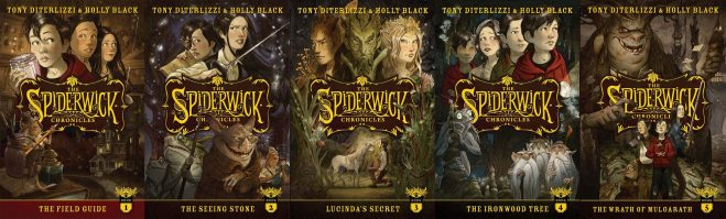 Spiderwick Chronicles 10th anniversary editions