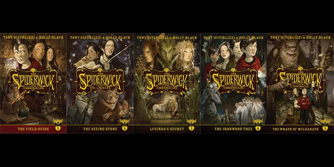 Spiderwick 10th anniversary covers