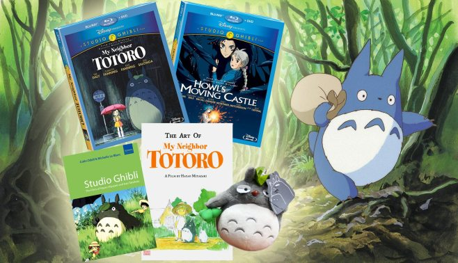 My neighbor totoro, Howl's Moving Castle