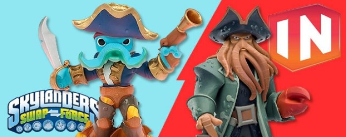 Skylanders Swap Force vs Disney Infinity