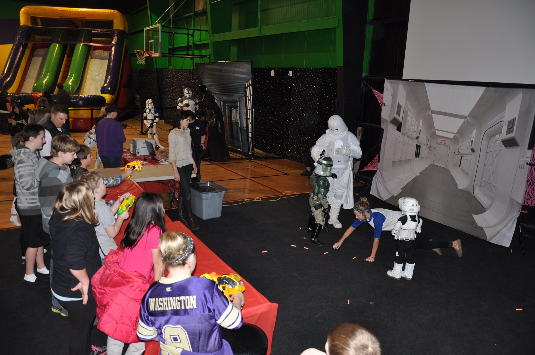 NNerf-A-Trooper for Nate's Seizure Assist Dog. Image: Chris Cardwell