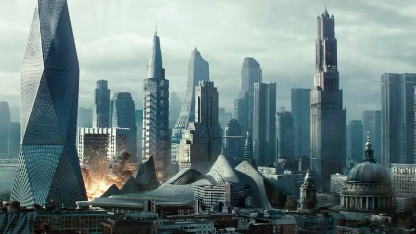 Always nice to see London in a movie!