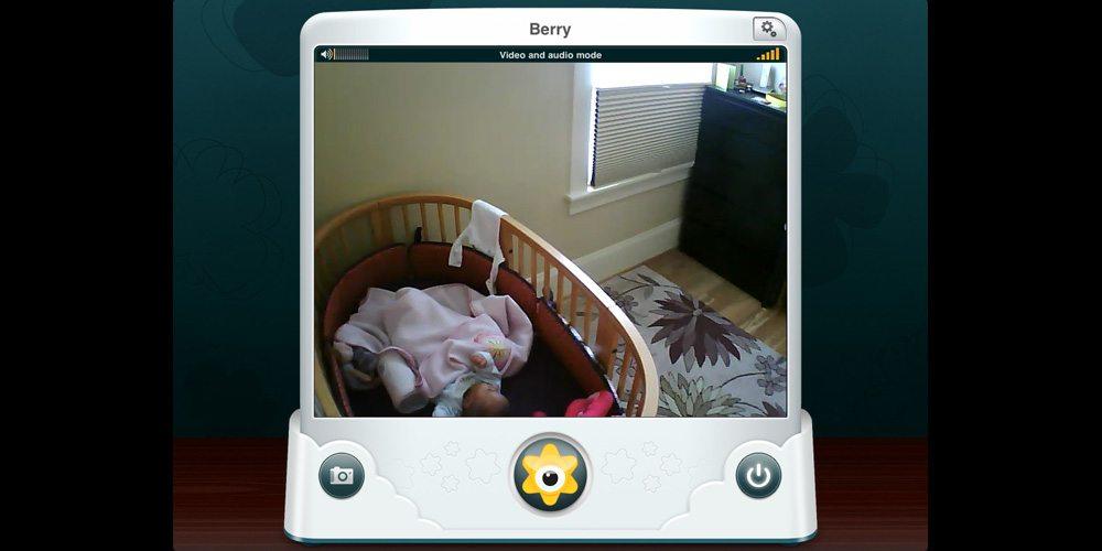 BabyPing screen