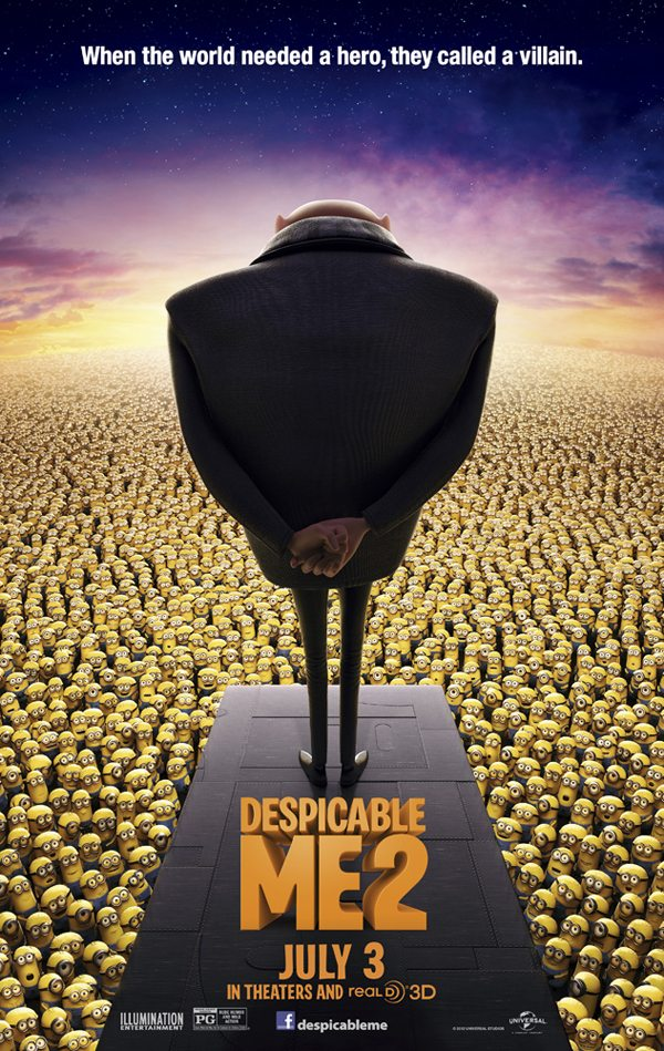 Steve Carell, Despicable Me 2