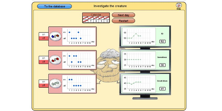 Genetics Lab -- a downloadable game to test complex problem solving