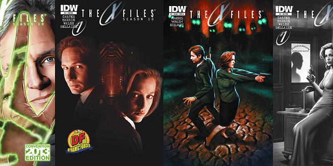The X-Files Issue One Variant Covers © IDW