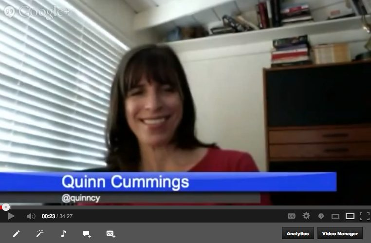 GeekMom Book Dish with Quinn Cummings