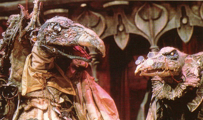 The evil Skeksis. (Image: Jim Henson Productions)