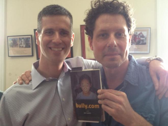Joe Lawlor (left) and Ethan Gilsdorf (right) at the author's book launch. (photo: Mary Ann Guillette)
