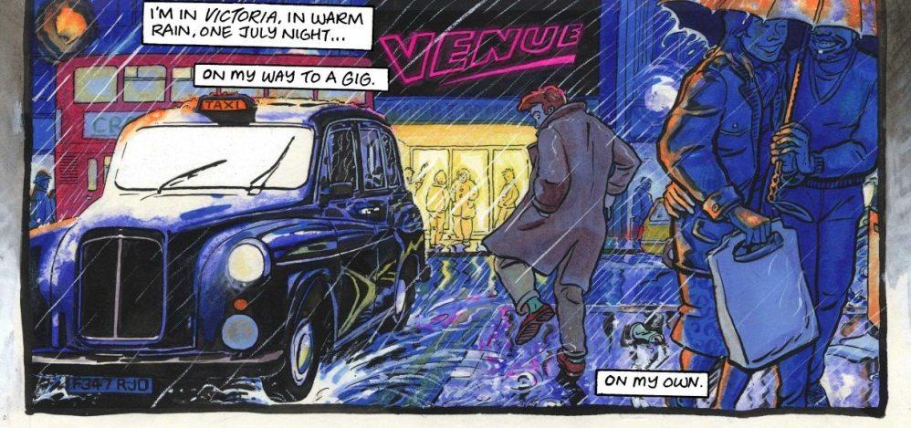 Sequential Comic Book App