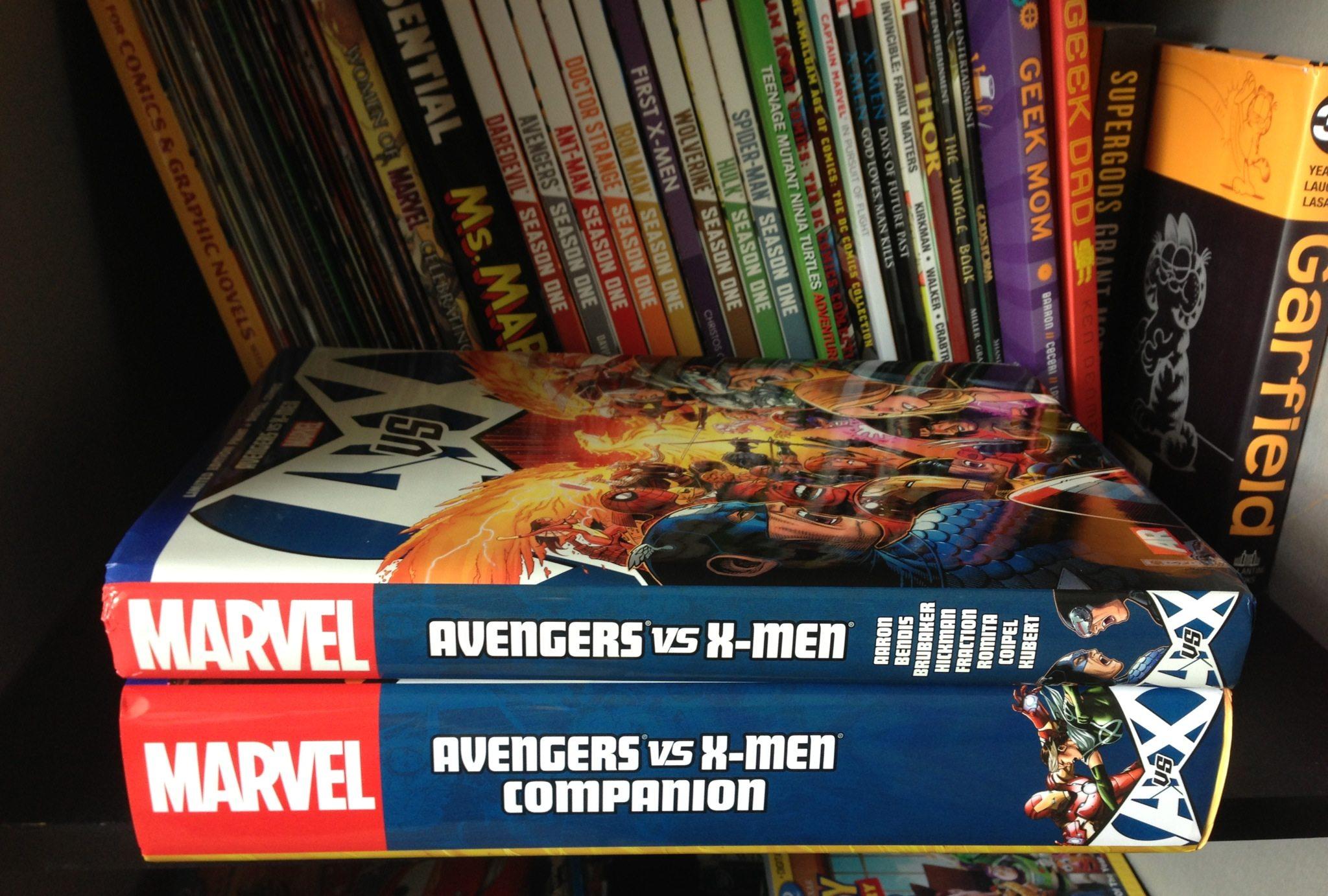 Avengers vs. X-Men Companion  Image: Dakster Sullivan