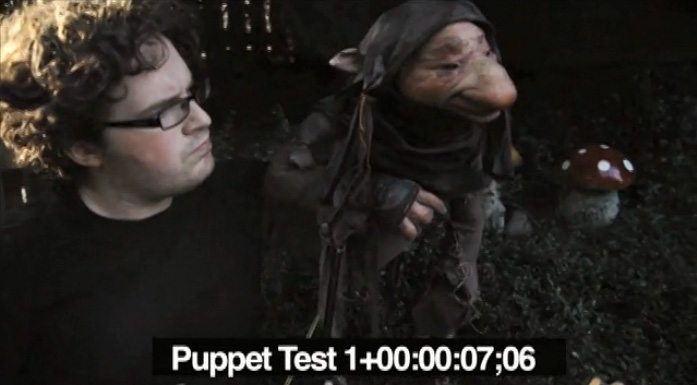 Toby and Puppet