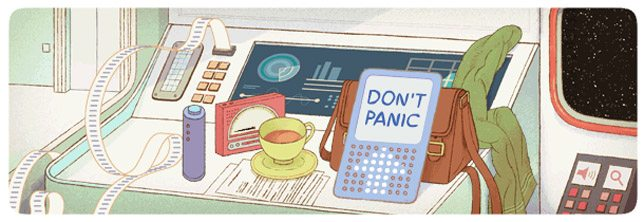 Adams Google Doodle
