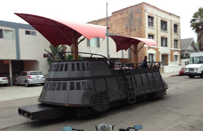 Jabba's Sail Barge in Venice, CA