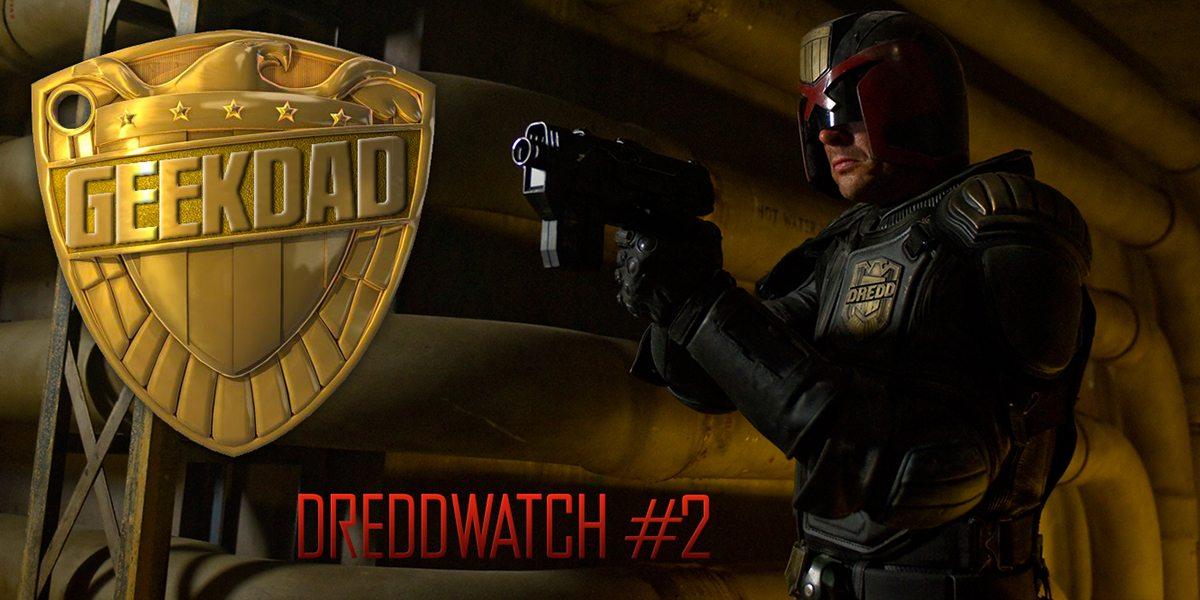 Dreddwatch #2, Dredd image courtesy of Lionsgate