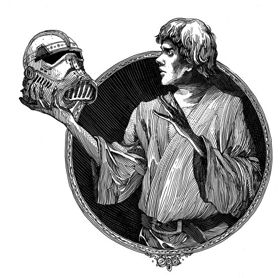 Hamlet or Helmet