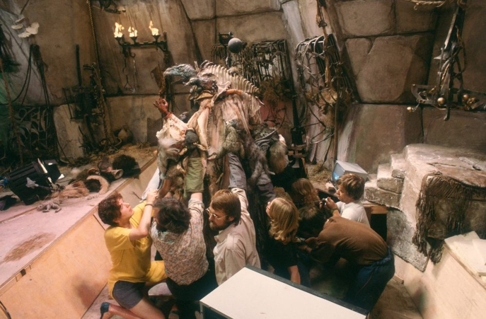 September 11, 1981 First unit finishes Dark Crystal shooting.