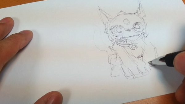 Drawing Skylanders 3