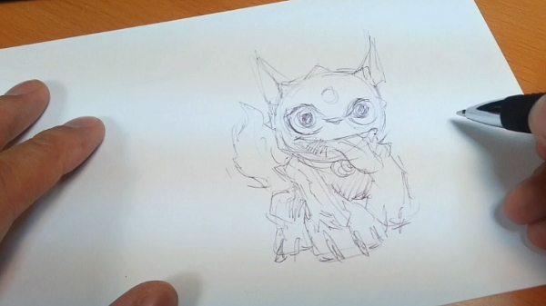 Drawing Skylanders 4