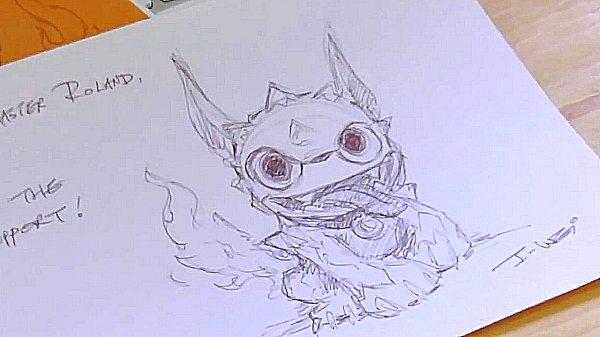 Drawing Skylanders 5