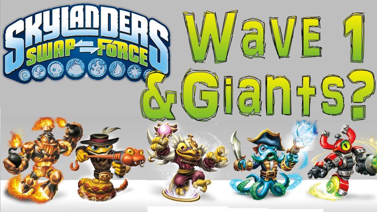 Swap Force Wave 1