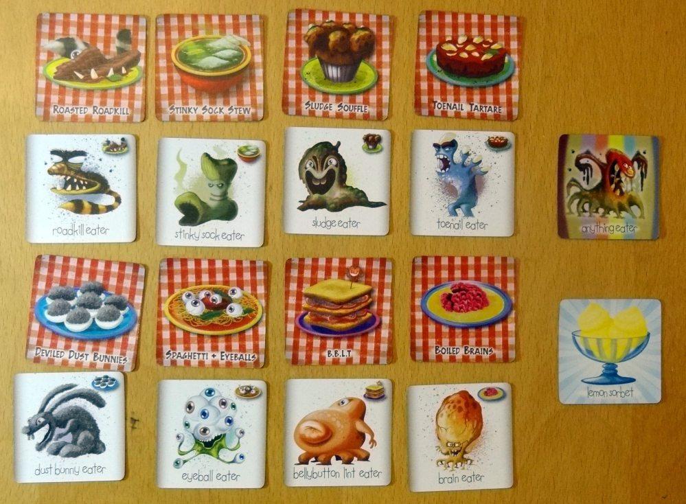 Monster Cafe cards
