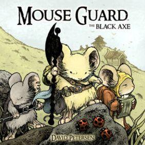 Mouse Guard Black Ax  Image: Archaia Entertainment LLC