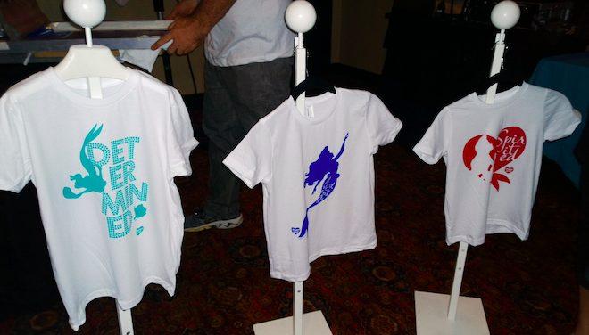#TheLittleMermaidEvent Silk-Screened Shirts, Image: Nicole Wakelin