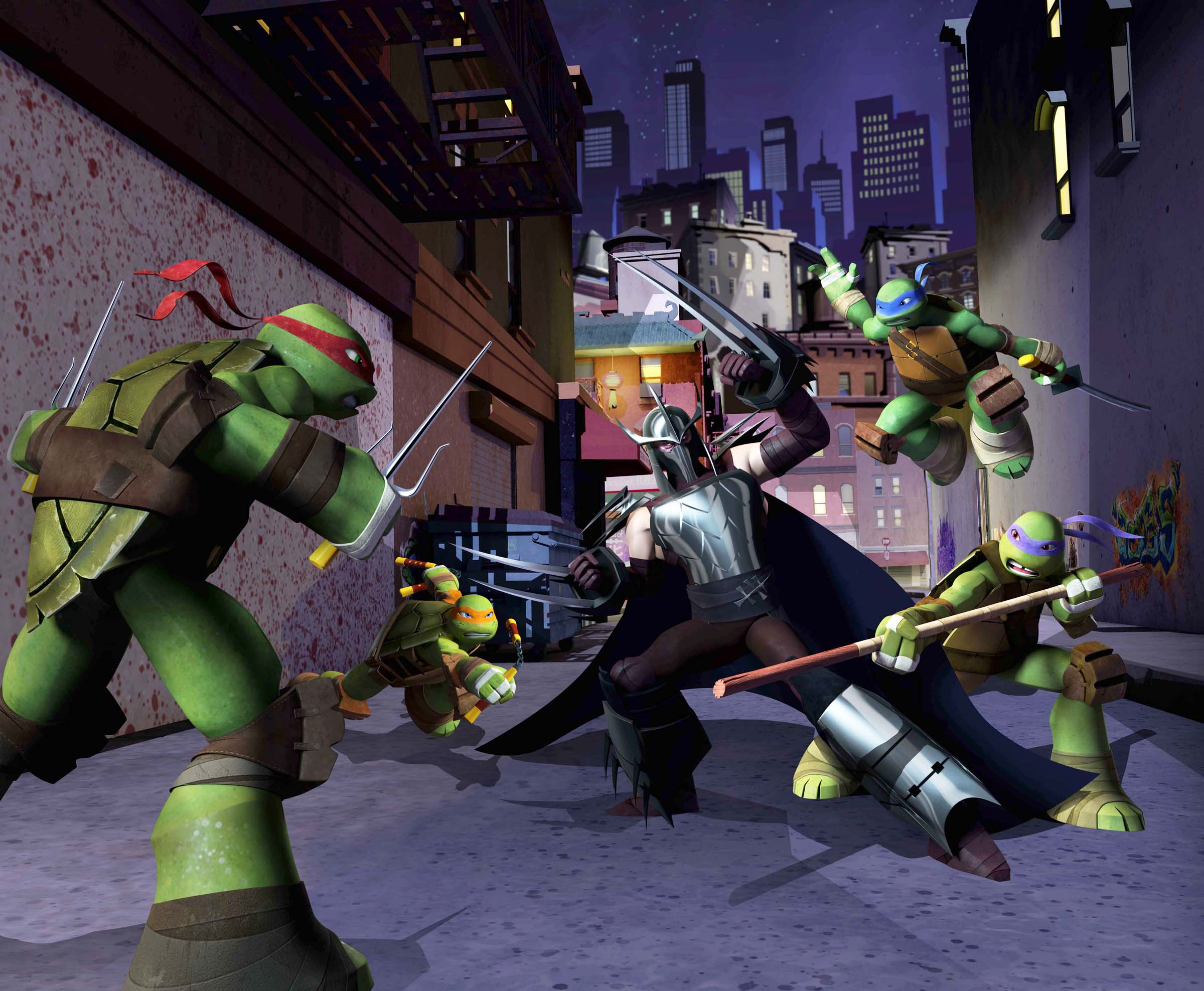 TMNT Season One  Image courtesy of Nickelodeon©2012 Viacom International Inc. All Rights Reserved