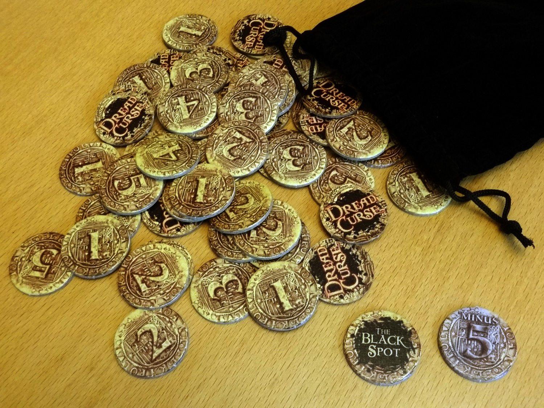 Dread Curse coins
